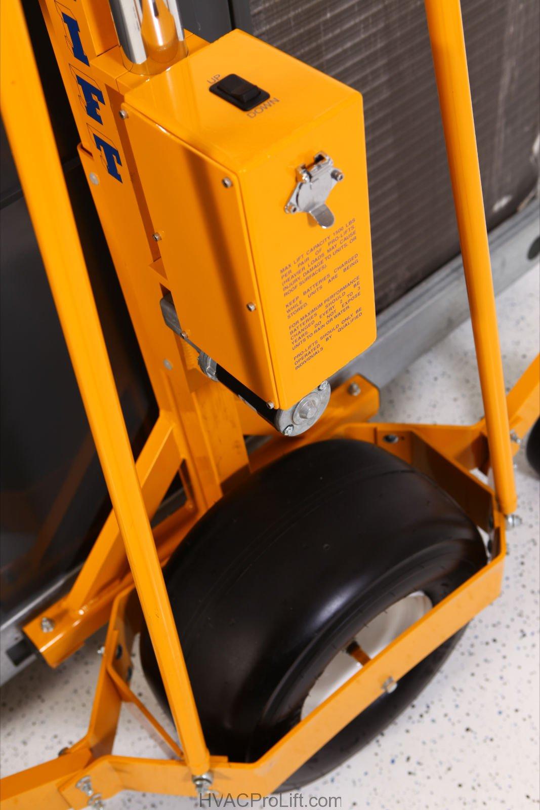 Pro Lift Main Wheel & Control Box