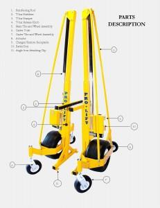 Pro-Lift B1230 Parts Sheet